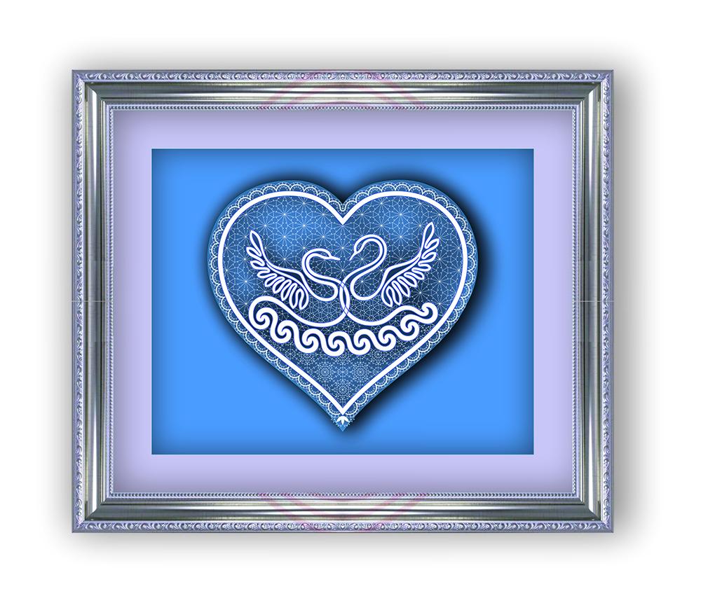 Сколок — Панно «Лебединая верность»