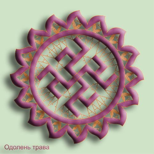 Сколок — Славянские обереги — «Одолень трава»
