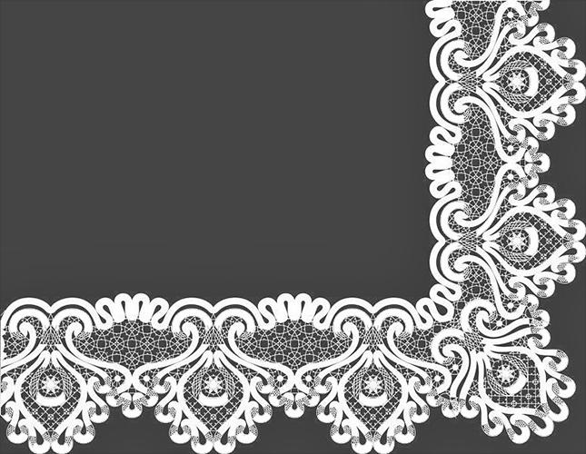 Сколок — Оплет «Аленький цветочек», шир. 20 см.