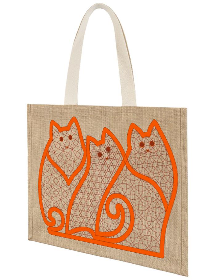 Сколок — Отделка-панно «Три кота»