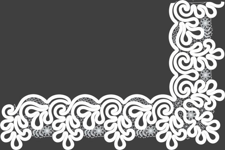 Сколок — Оплет «Вьюнок», шир. 13,6 см.