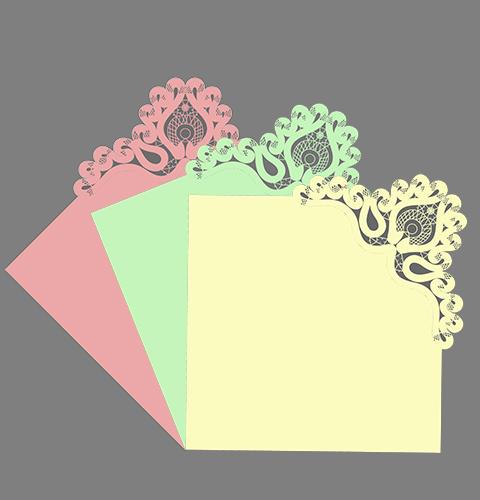 Сколок — Оплет для салфетки № 2, уголок.
