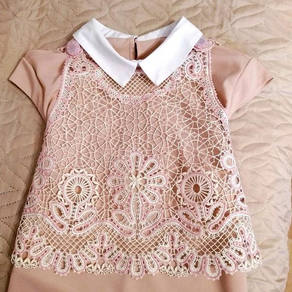 Сколок — Платье-фартук для девочки, рост 80 см.