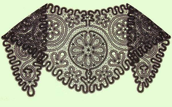 Сколок — Косынка-накидка старинная (восстановленная)