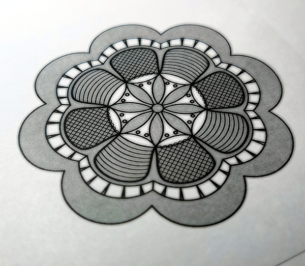 Сколок — Отделка-нашивка «Цветок»